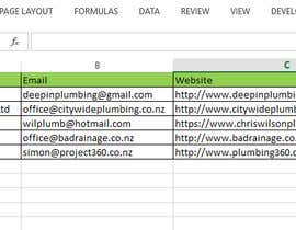 BithiXpert tarafından Data Entry from Website to spreadsheet için no 7