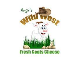 #8 สำหรับ Angies Wild West Goats Cheese. โดย MoamenAhmedAshra