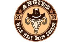 #14 สำหรับ Angies Wild West Goats Cheese. โดย NIBEDITA07
