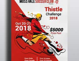 #25 для Digital and Printed Promotional Flyer - Thistle Challenge 2018 от smileless33