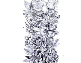 #21 untuk £100 for a Black and White hand or computer drawn tropical image of leaves, fruits and trees (see attached). oleh djamalidin