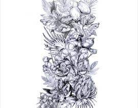 #37 untuk £100 for a Black and White hand or computer drawn tropical image of leaves, fruits and trees (see attached). oleh djamalidin