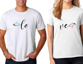 #36 for Trendy & Catchy Tshirt Screen Printing Design For Couple by designertarikul