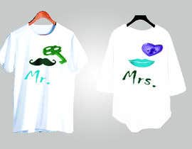 #43 for Trendy & Catchy Tshirt Screen Printing Design For Couple by RafatSaiful