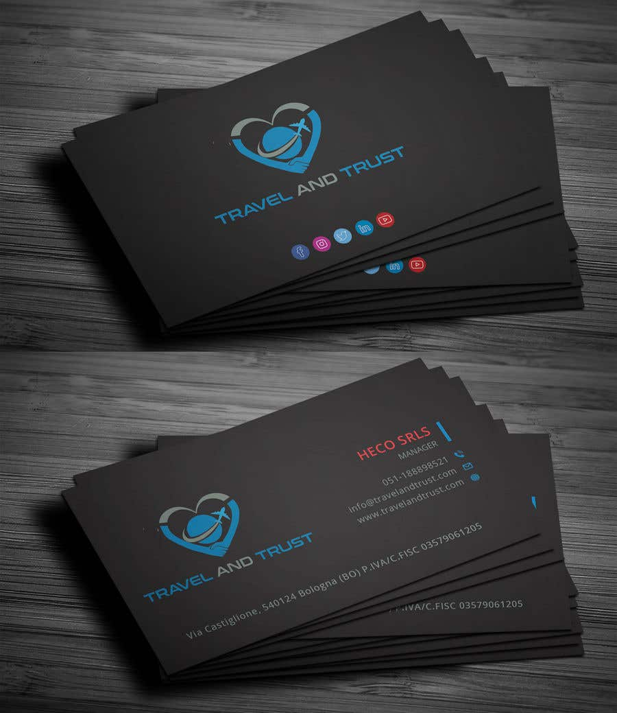 Contest Entry 36 For Tri Fold Business Card One Page Slick