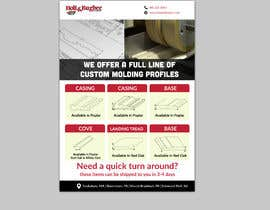 #138 cho Design a flyer top hand to clients bởi silverpixel1