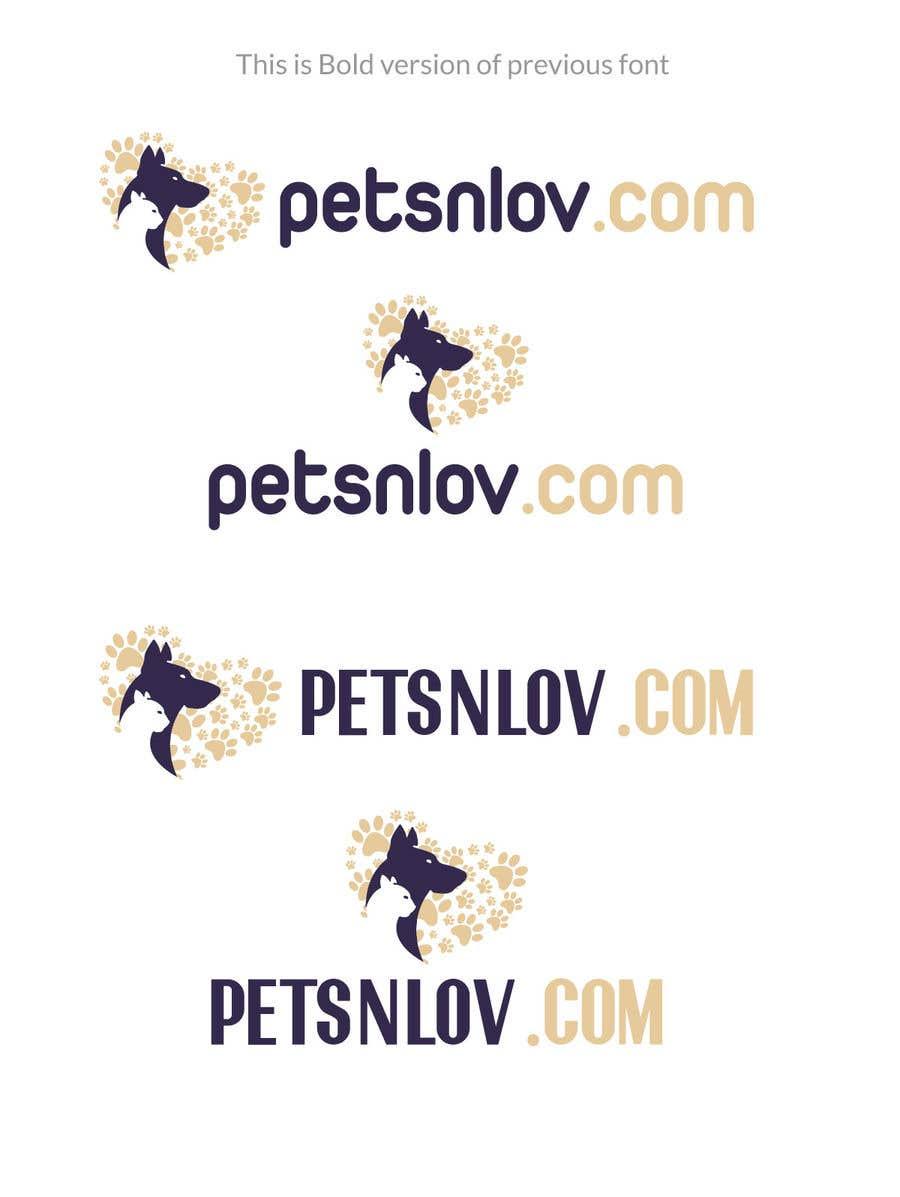 Penyertaan Peraduan #6 untuk Banners, Logo, Mock Images designs for www.Petsnlov.com