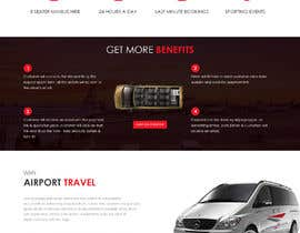#23 для DESIGN ME A WEBSITE AND FACEBOOK PAGE FOR AIRPORT TRANSFER MINIBUS от saidesigner87
