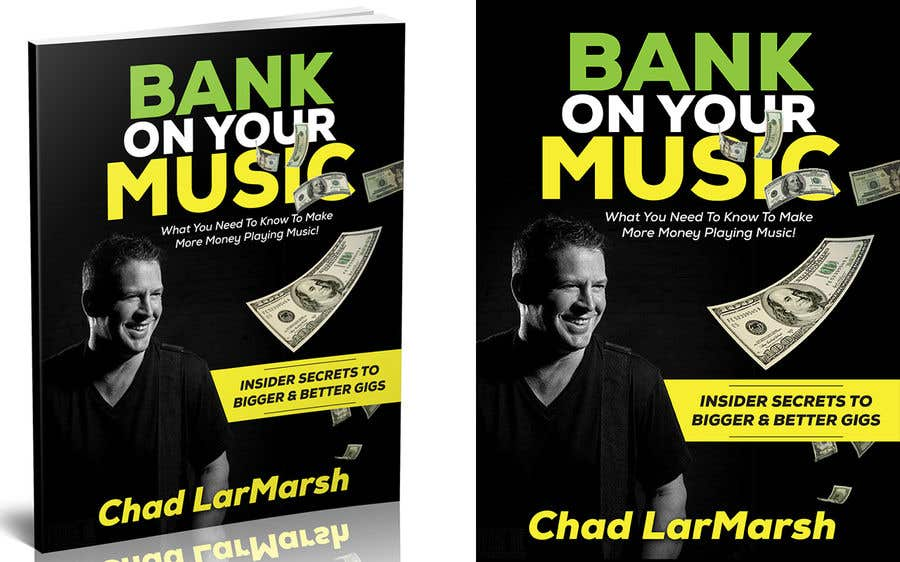 28ac85c25ba6 Entry  169 by nikita626 for Bank On Your Music (Book Cover)