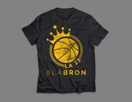 nº 63 pour Lakers Fan Shirt par AvishekM
