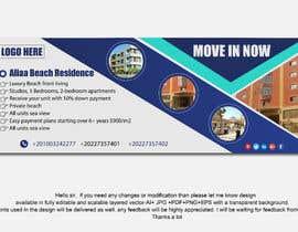 nº 125 pour Design beach residence teaser banner par mmasumbillah57