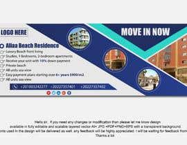 nº 127 pour Design beach residence teaser banner par mmasumbillah57