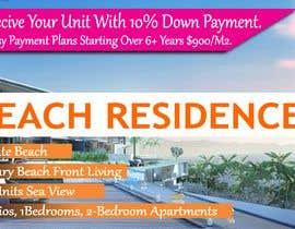 nº 117 pour Design beach residence teaser banner par matinkhandakar
