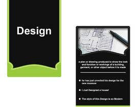 #14 для Design a Flash-card (Two-sided Study Card) от AbdelrahmanHMF