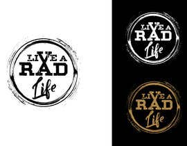 freeland972 tarafından Please design an epic and iconic logo for my lifestyle/ wellness company 'Live a RAD Life' Please refer to the previous artwork as attached as the artwork must be in circle. için no 63