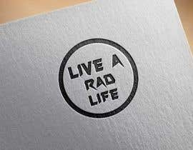 xpressdesignbd tarafından Please design an epic and iconic logo for my lifestyle/ wellness company 'Live a RAD Life' Please refer to the previous artwork as attached as the artwork must be in circle. için no 24