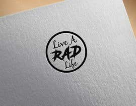 logodesign97 tarafından Please design an epic and iconic logo for my lifestyle/ wellness company 'Live a RAD Life' Please refer to the previous artwork as attached as the artwork must be in circle. için no 58