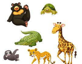 #5 for Illustrate and Vectorize a Cute Animal Set by Irfan80Munawar