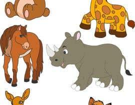 #1 para Illustrate and Vectorize a Cute Animal Set por shafeeqmuhammad