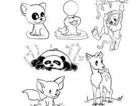 #8 para Illustrate and Vectorize a Cute Animal Set por ToaMota