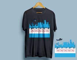 #33 for Chicago flag/Beaver Island shirt by robiulhossi