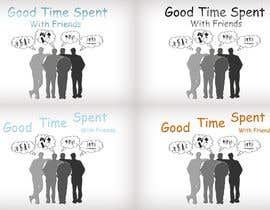 #61 untuk Gaming theme t-shirt design wanted – Good Times Spent with Friends oleh midoqaz