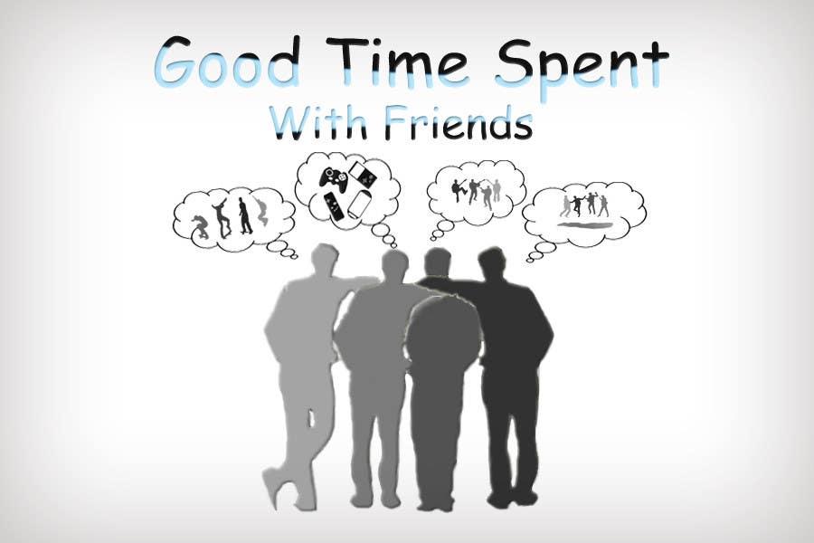 Конкурсная заявка №56 для Gaming theme t-shirt design wanted – Good Times Spent with Friends