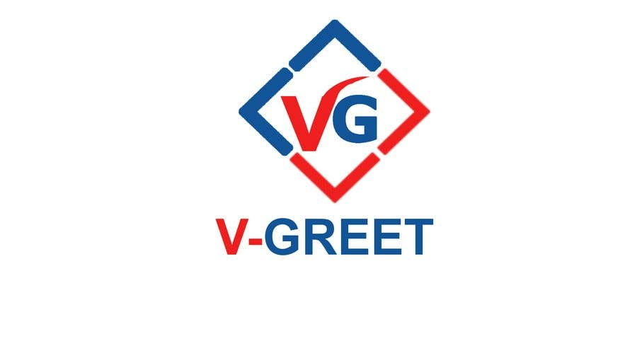Entry #96 by igenmv for Design an Urgent Logo For 'V-Greet