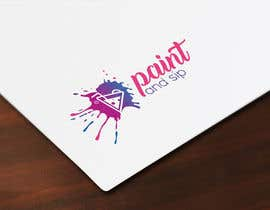 #74 for PAINTnSIP | DESIGN A LOGO by nayeem200