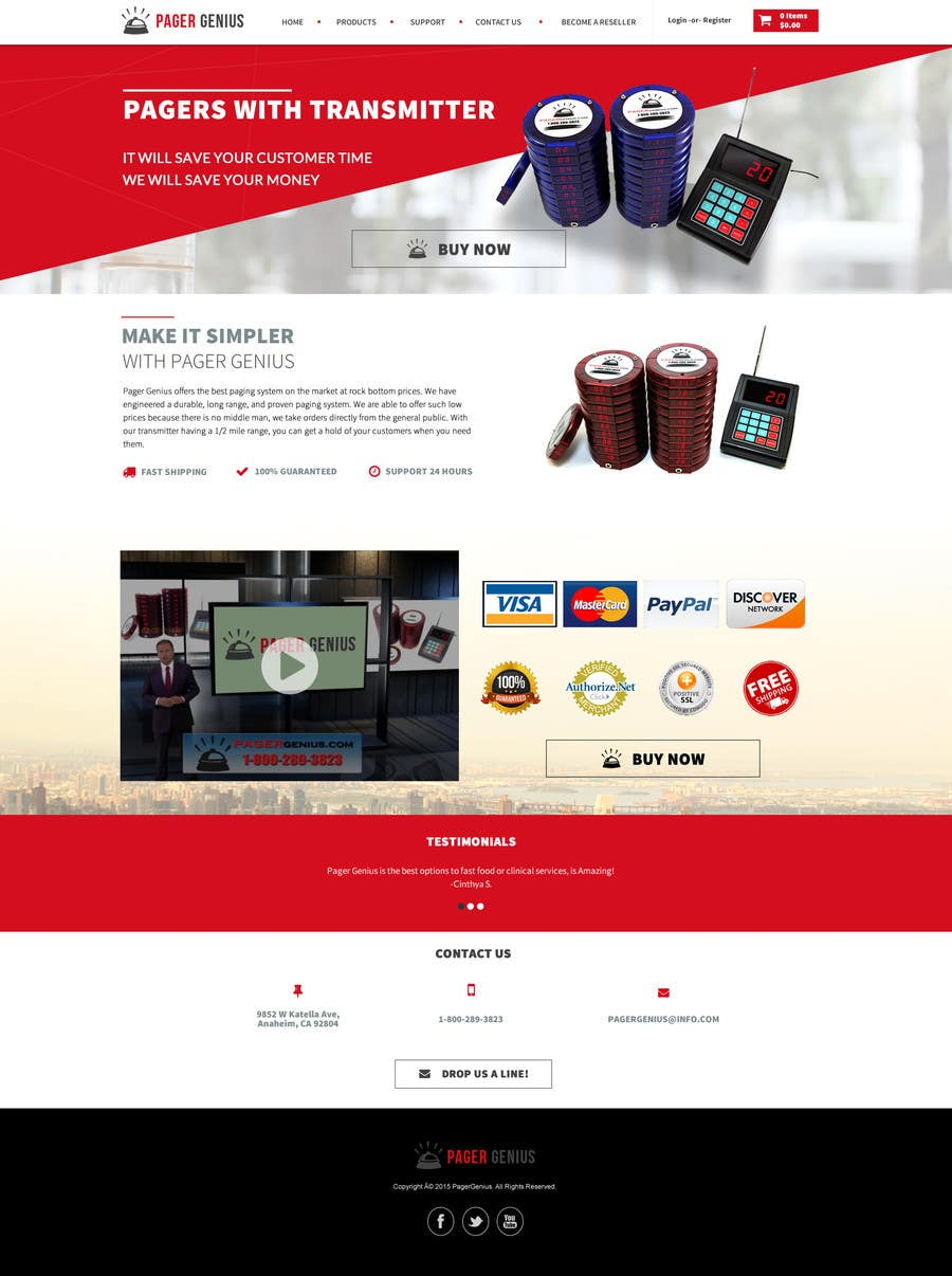 Contest Entry 77 For Design A Homepage