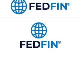 #37 for Federal Financial or FEDFIN logo design by ziaultuba16