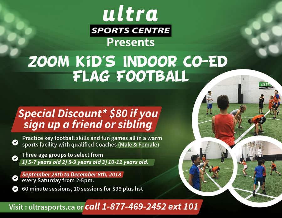Конкурсная заявка №9 для Flag Football - Youth