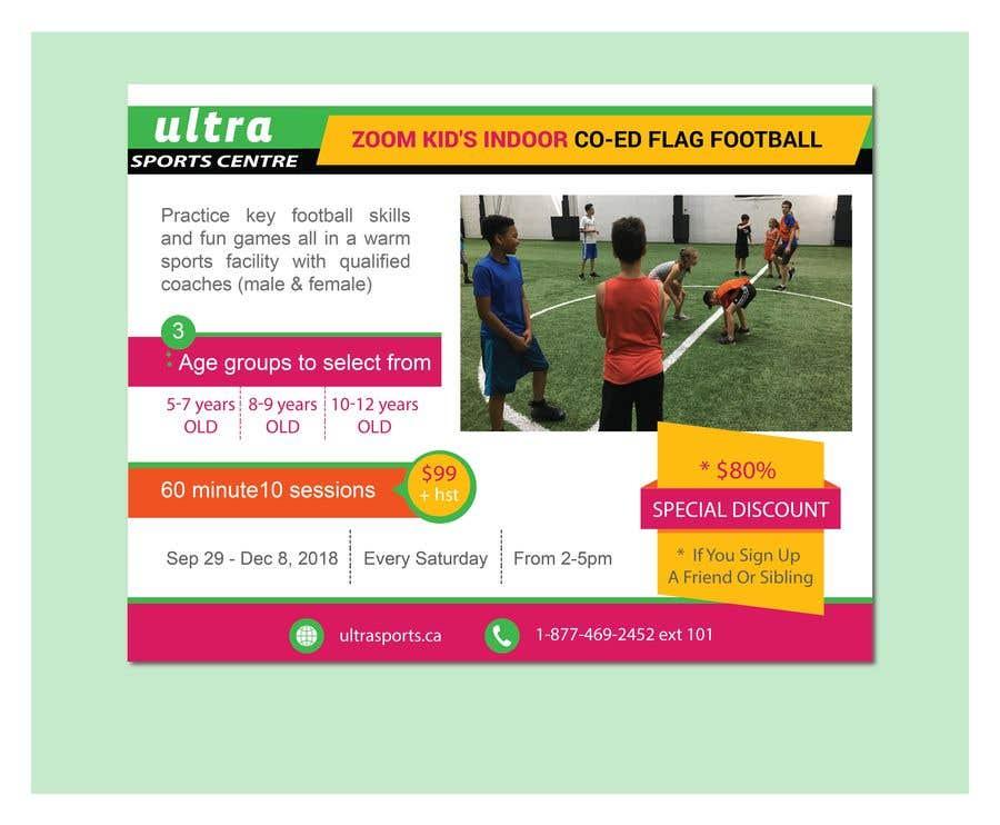 Конкурсная заявка №15 для Flag Football - Youth