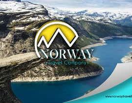 Jokey05 tarafından Logo Design - Mountain + Sun/Circle. For Travel Norway için no 97