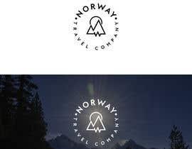 niloysakin tarafından Logo Design - Mountain + Sun/Circle. For Travel Norway için no 88