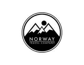 GowthamR14 tarafından Logo Design - Mountain + Sun/Circle. For Travel Norway için no 87