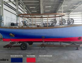 #20 for Color render an existing boat hull from a digital photo af igorsanjines