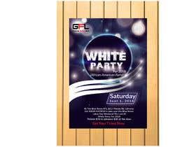 #44 pentru Design a Flyer all white party ATL de către mohashin85