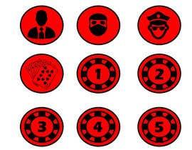 Nro 2 kilpailuun Circular icon buttons for software application käyttäjältä ezo2016