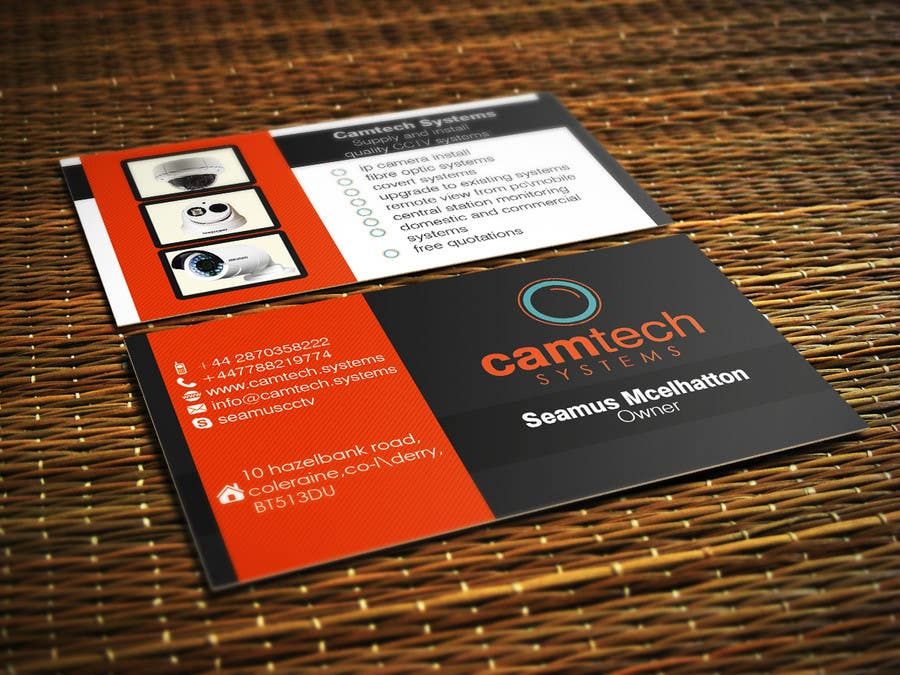 Entry 39 by s04530612 for design some business cards for camtech contest entry 39 for design some business cards for camtech systems colourmoves