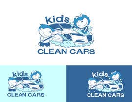 #45 for Create logo for Kids Clean Cars af Attebasile