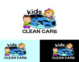 #48 for Create logo for Kids Clean Cars af Attebasile