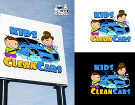 #83 for Create logo for Kids Clean Cars af Attebasile