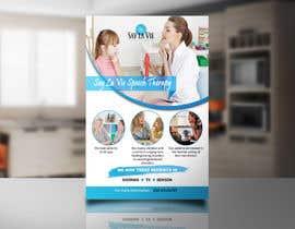 Nro 30 kilpailuun Design a Flyer for a Speech Therapy Company käyttäjältä asfiaasa