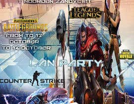 #15 for Lan party poster/flyer by panjamon