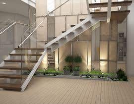 #11 for Interior design entry hall private house/ stairway by fridaanantya