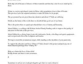 #4 untuk Script for Charity Crowdfunding Video - Children in The Mountain oleh dextrouswriter