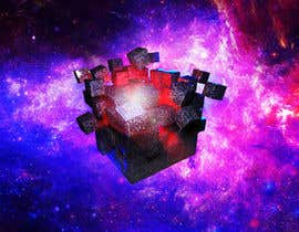#16 for I need a exploding sci-fi cube in space by DoctorRomchik