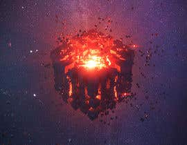#15 for I need a exploding sci-fi cube in space af fauzifau