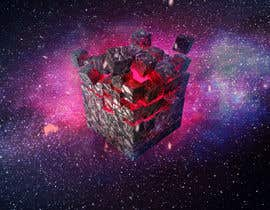 #7 for I need a exploding sci-fi cube in space af Antonn3
